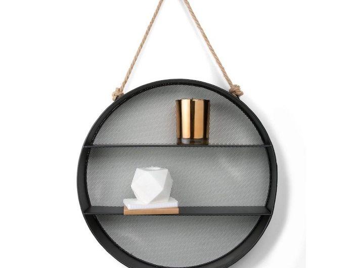 Etagere Suspendue Murale Circulaire Ronde Design Moderne Inspi