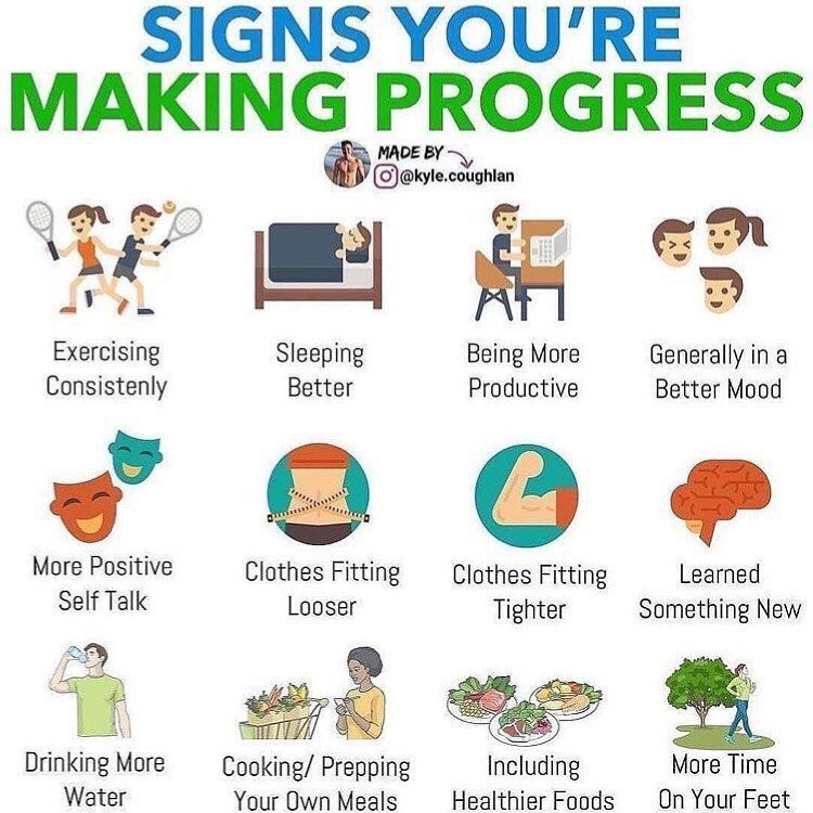 """??♀️Weight Loss ?Nutrition on Instagram: """"Follow? @weightloss.go • What's One Improvement You're Proud Of? ⠀ Ever feel like you're not making 'progress'? ⠀ I do ?♂️and quite…"""""""