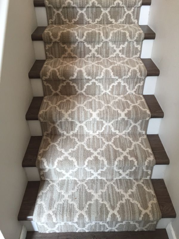 Love This Patterned Stair Runner!   Home Decor   Decor Ideas