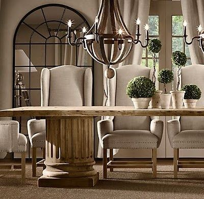 Home Ideas Restoration Hardware Dining Room Dining Room Chairs Upholstered Dining Chairs