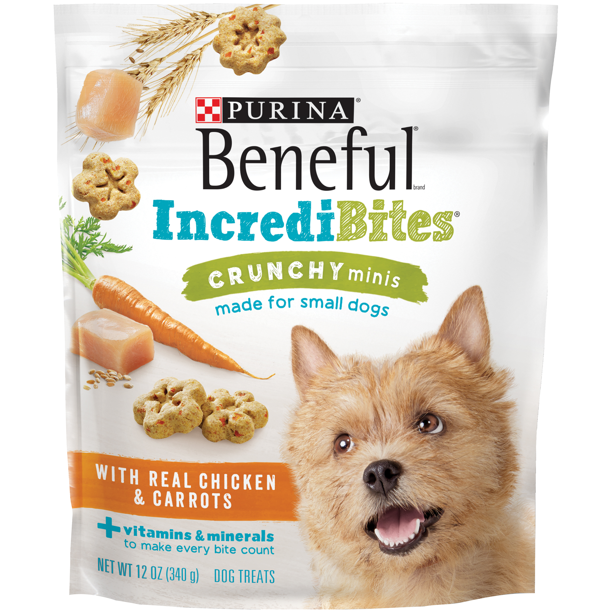 Beneful Purina Incredibites Crunchy Minis With Real Chicken