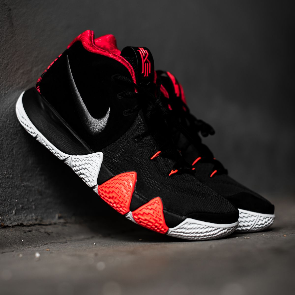 8e3bd2a497f This Nike Kyrie 4 colorway is inspired by Irving s incredible 41-point  performance in Game 5 of the NBA Finals