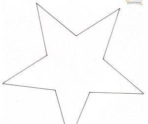 Estrellas de navidad hechas con latas template - Plantilla estrella navidad ...