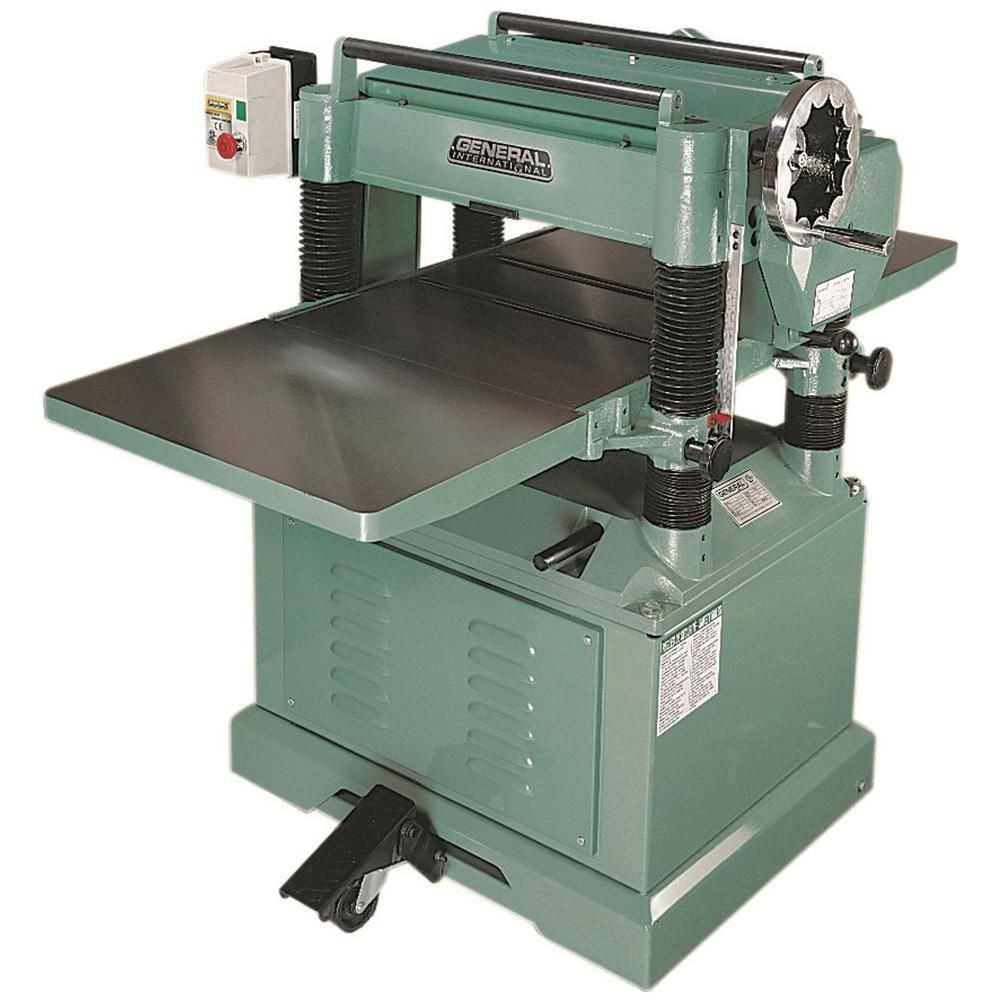 220 Volt 20 In Planer With Helical Cutter Head Shop