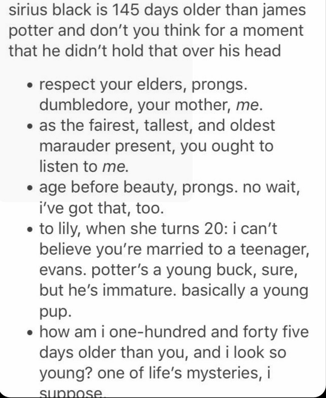 Sirius Black Imagines (HOLD) - Birthday!! | dragged by