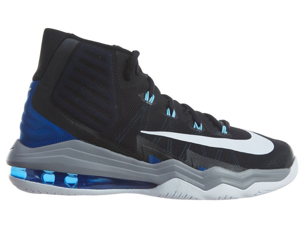 Nike Air Max Audacity 2016 Mens Basketball Shoes 10.5 Black