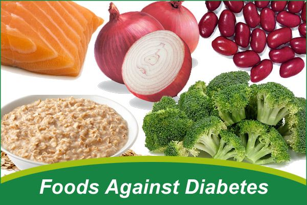 Diet foods for diabetics
