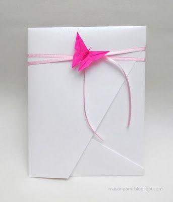 Sobres De Origami Para 15 Años Origami Sobres Tarjetas De