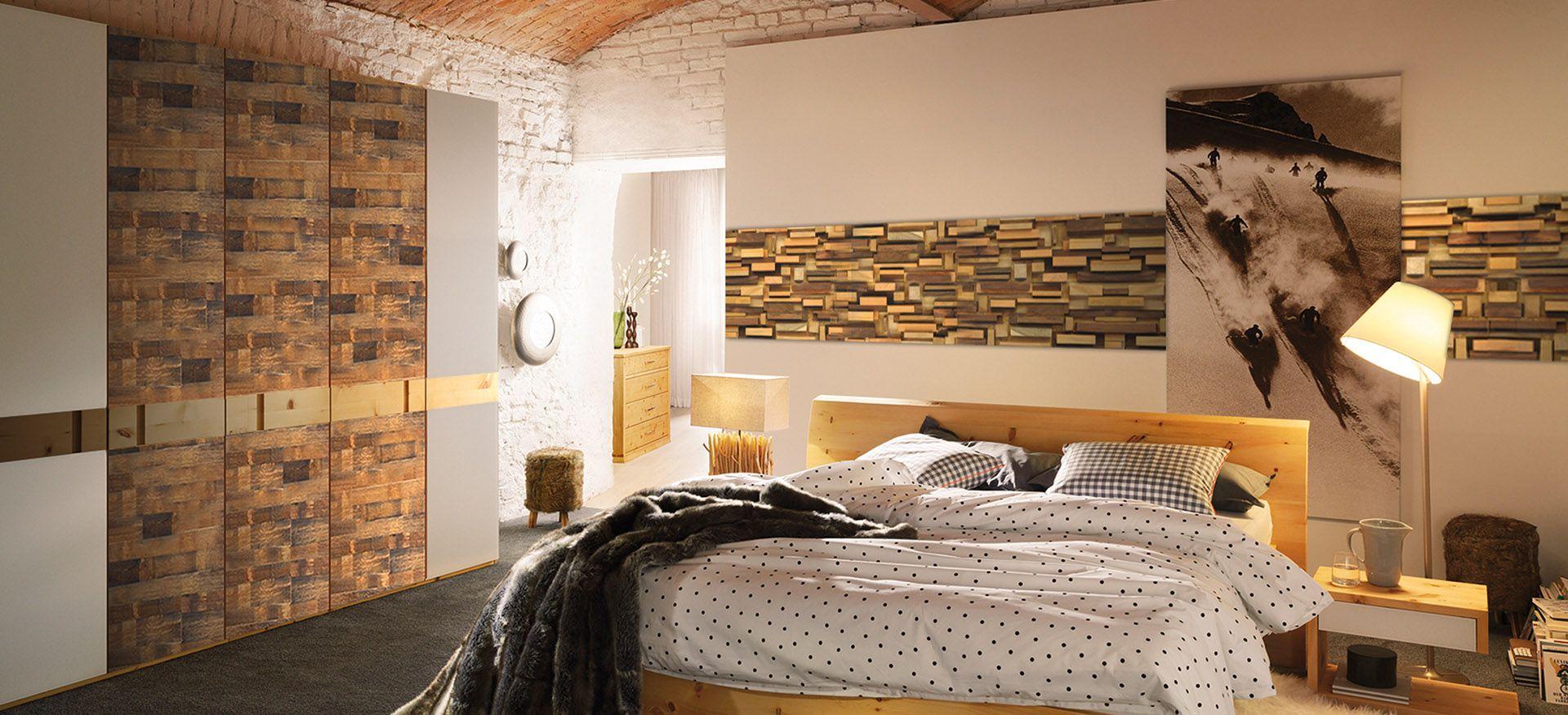 schlafzimmer gestalten mit steinwand  Home, Home decor, Decor