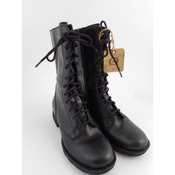 NEW NEVER WORN Born Combat boots These are Born zip up combat boots new without price tag but still has the logo tag! Soft real leather! New and never worn! Born Shoes Combat & Moto Boots