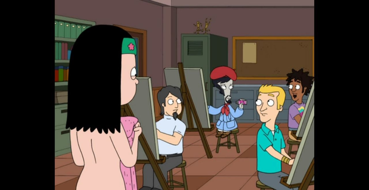 Animated American Dad Porn pin on animation: from any time and any place