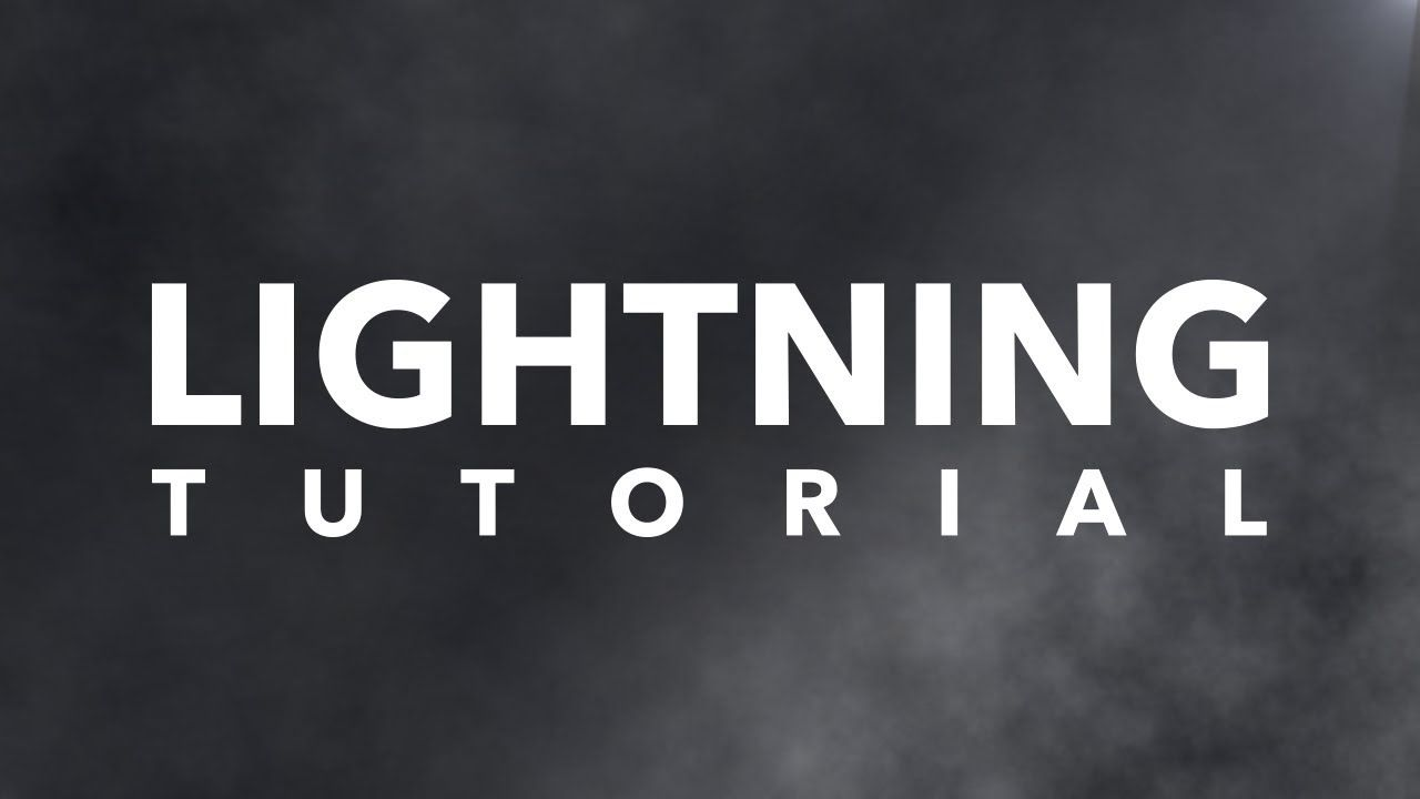 After effects lightning tutorial augustus the animator youtube