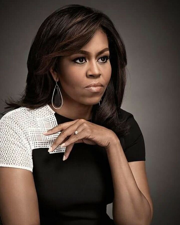 #FirstLady Of The United States #MichelleObama is a lady in black and white…