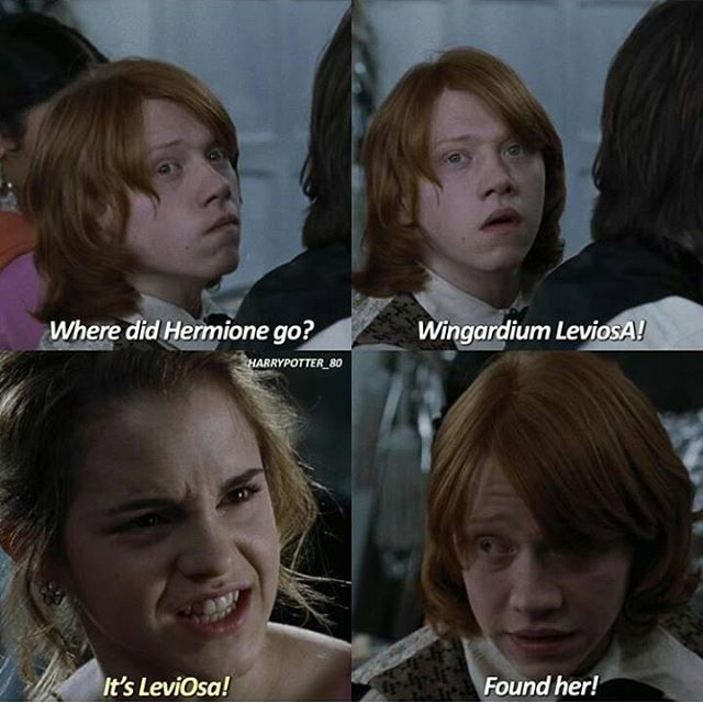 "Harry Potter Fan Page on Instagram: ""Will you spell it everyday? � - - - �Follow me ( @wizardpost.s ) for more clips and pics � - #emmawatson #emmawatsonlove…"""