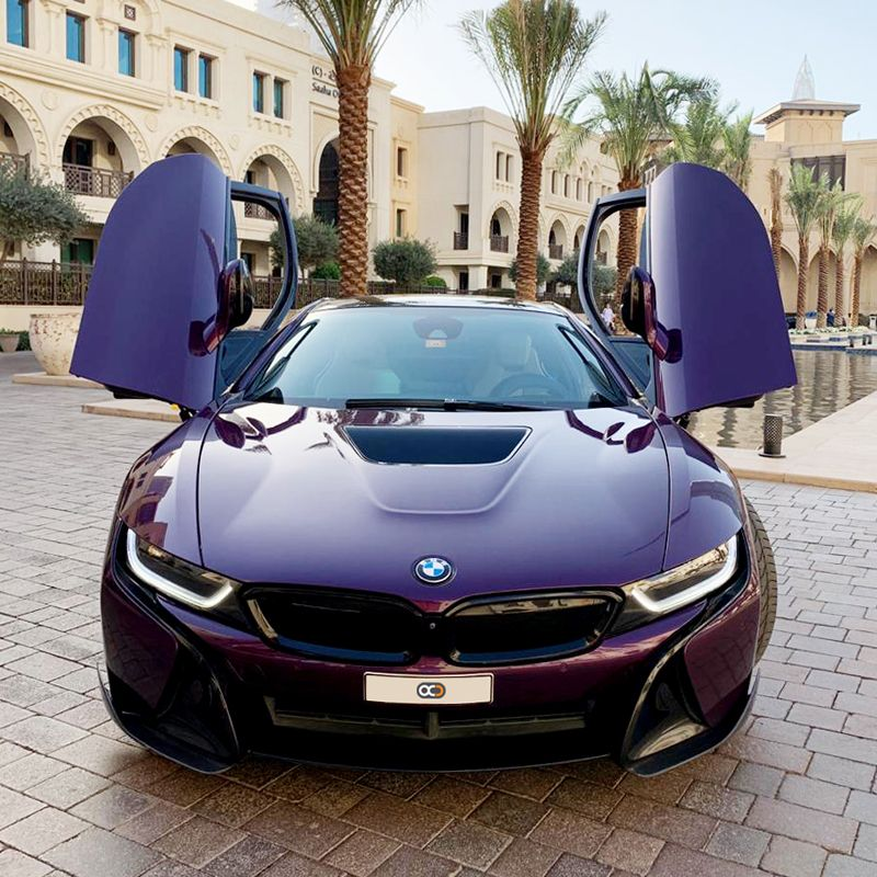 Drive The Electric Car BMW I8 In Dubai 🇦🇪 @ AED 2500 / Day