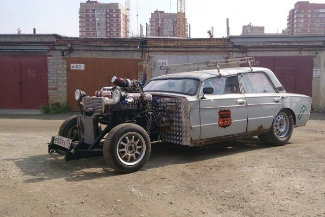 Beau Russian Rat Rod Gives New Life To Old VAZ