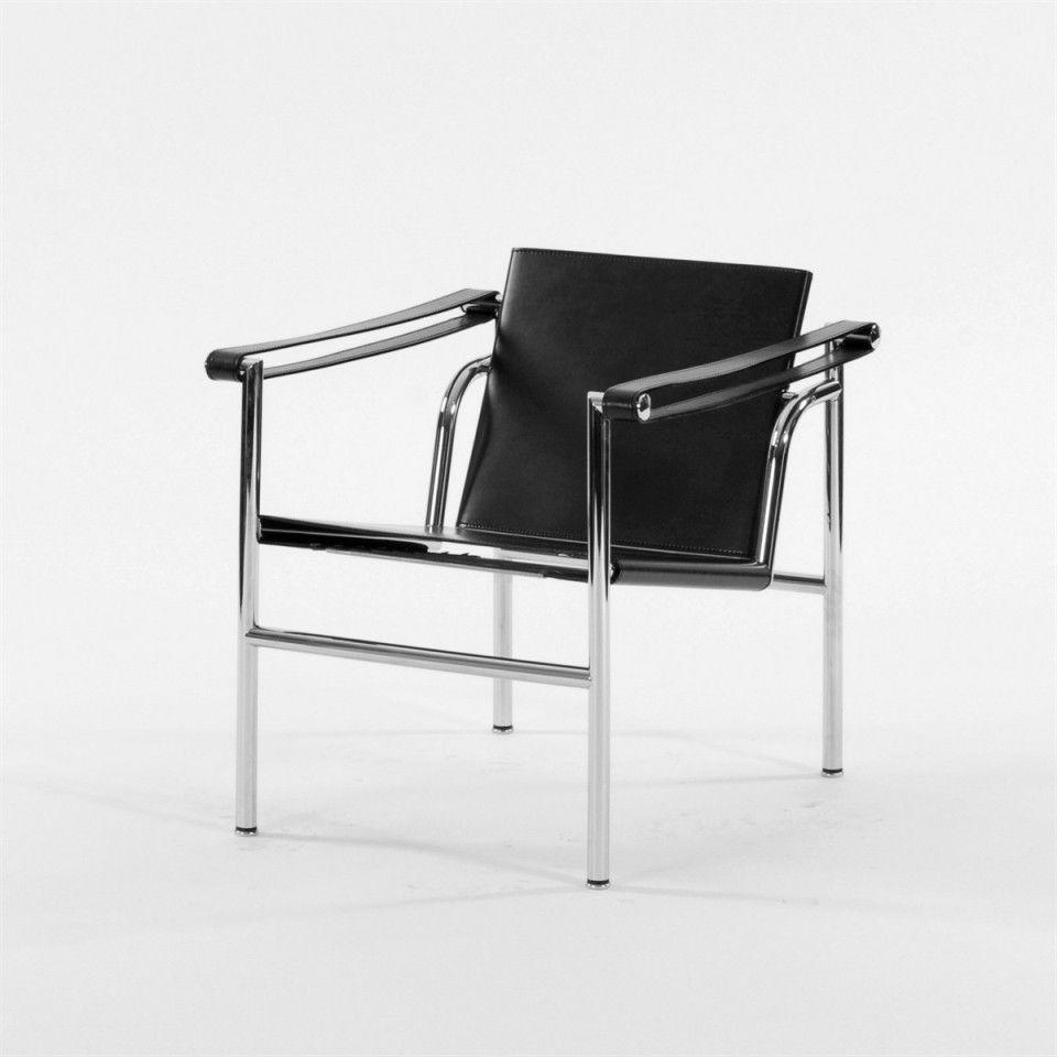 LC1 Safari Stuhl Le Corbusier Leder Sofa Chaise Pierre Jeanneret Interior