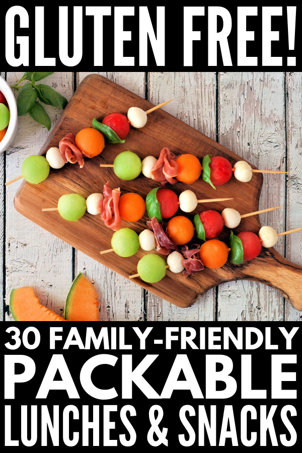 30 Portable Gluten Free Lunch Ideas for the Whole Family images