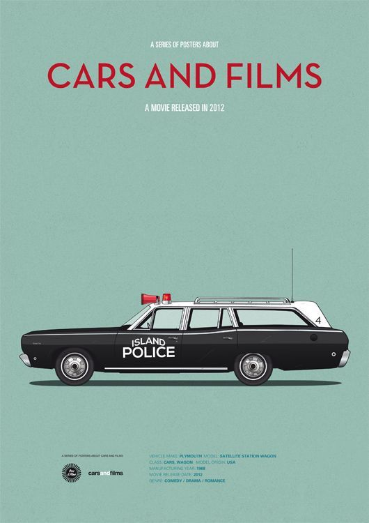 15 Minimalist Illustrations of Iconic Cars in Film