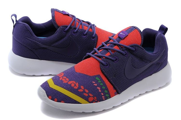 cheap for discount 78528 f3b35 ... aliexpress herre sko nike roshe run mesh rød lilla gul dksko 0bf09 f10a7