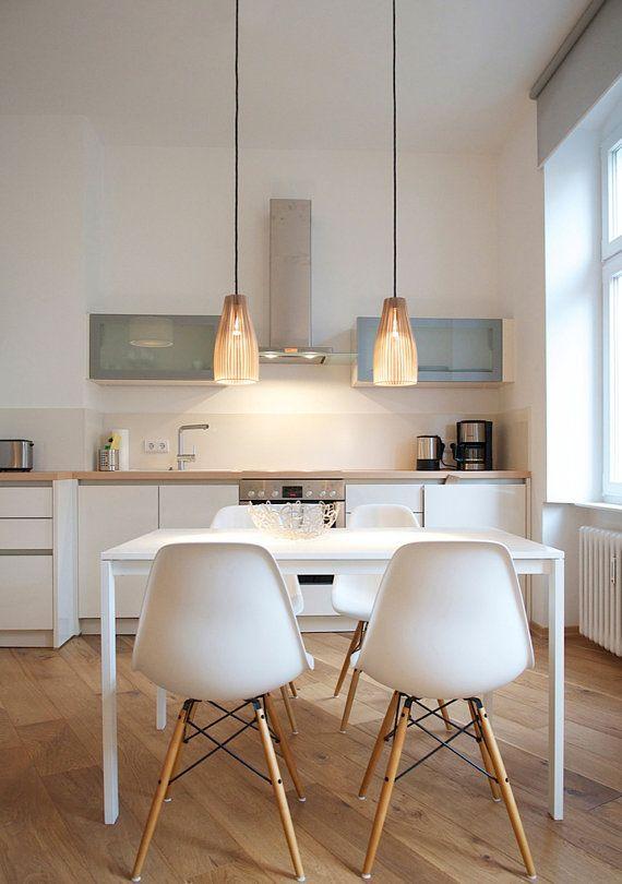 ENA Pendelleuchte aus Holz, Hängelampe, Holz Lampe #pendantlighting