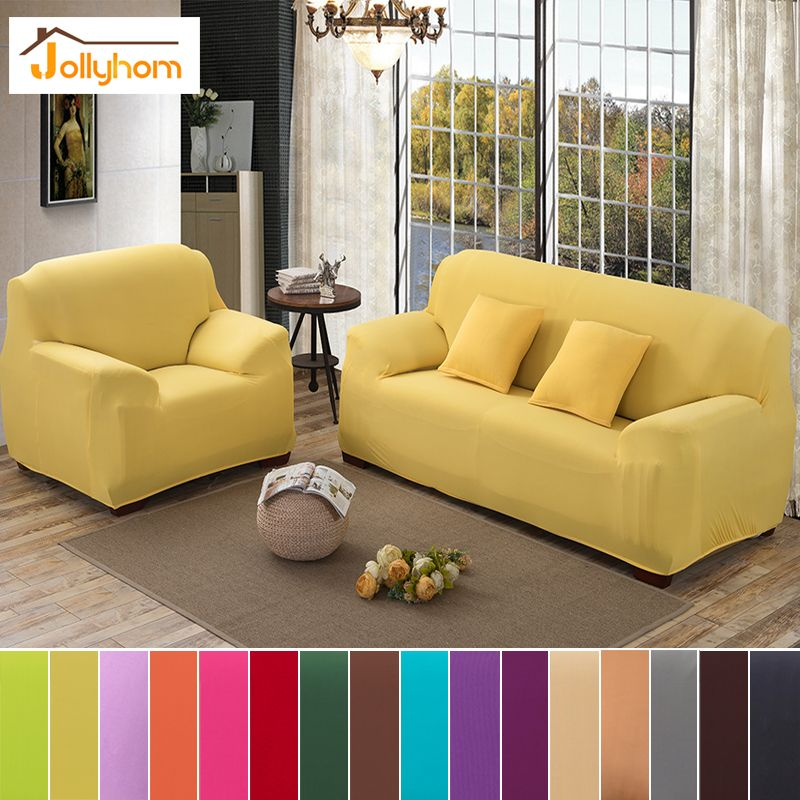Cheap Colorful Sofa Covers, Buy Quality Sofa Cover Directly From China Sofa  Towel Suppliers: Big Elasticity Stretch Solid Color Sofa Cover Polyester ...
