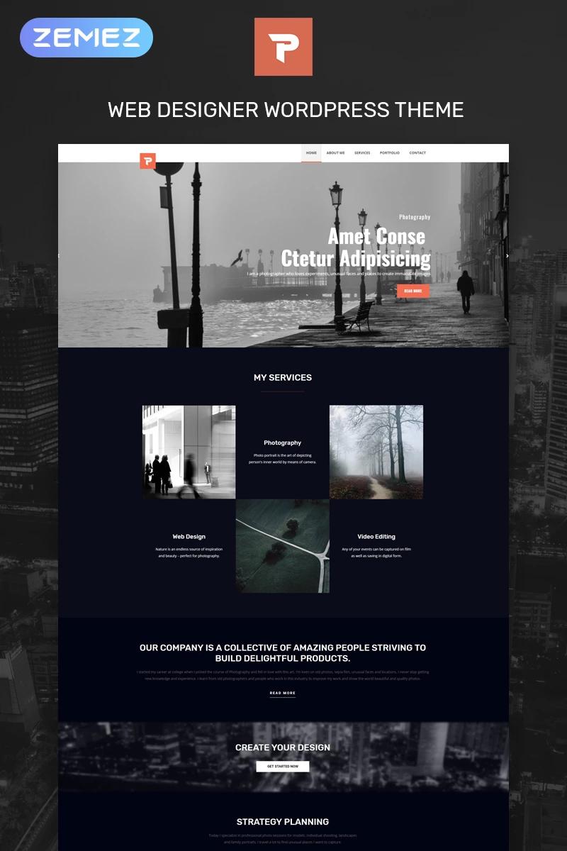 Personalus Web Designer Multipurpose Creative Elementor Wordpress Theme Web Design Wordpress Template Design Wordpress Website Design