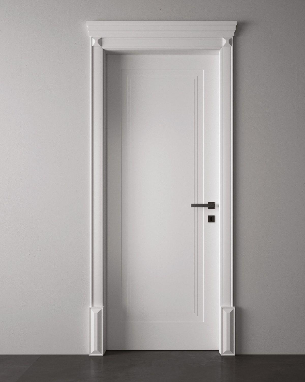 Porte laccate da interni pantografate: Collezione Milia