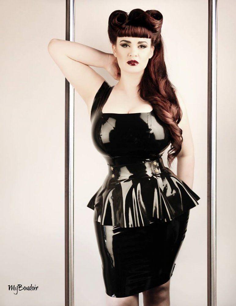 Buy Plus Size Latex Dress * Alexandra Dress* .. by Phoenixx Designs ...