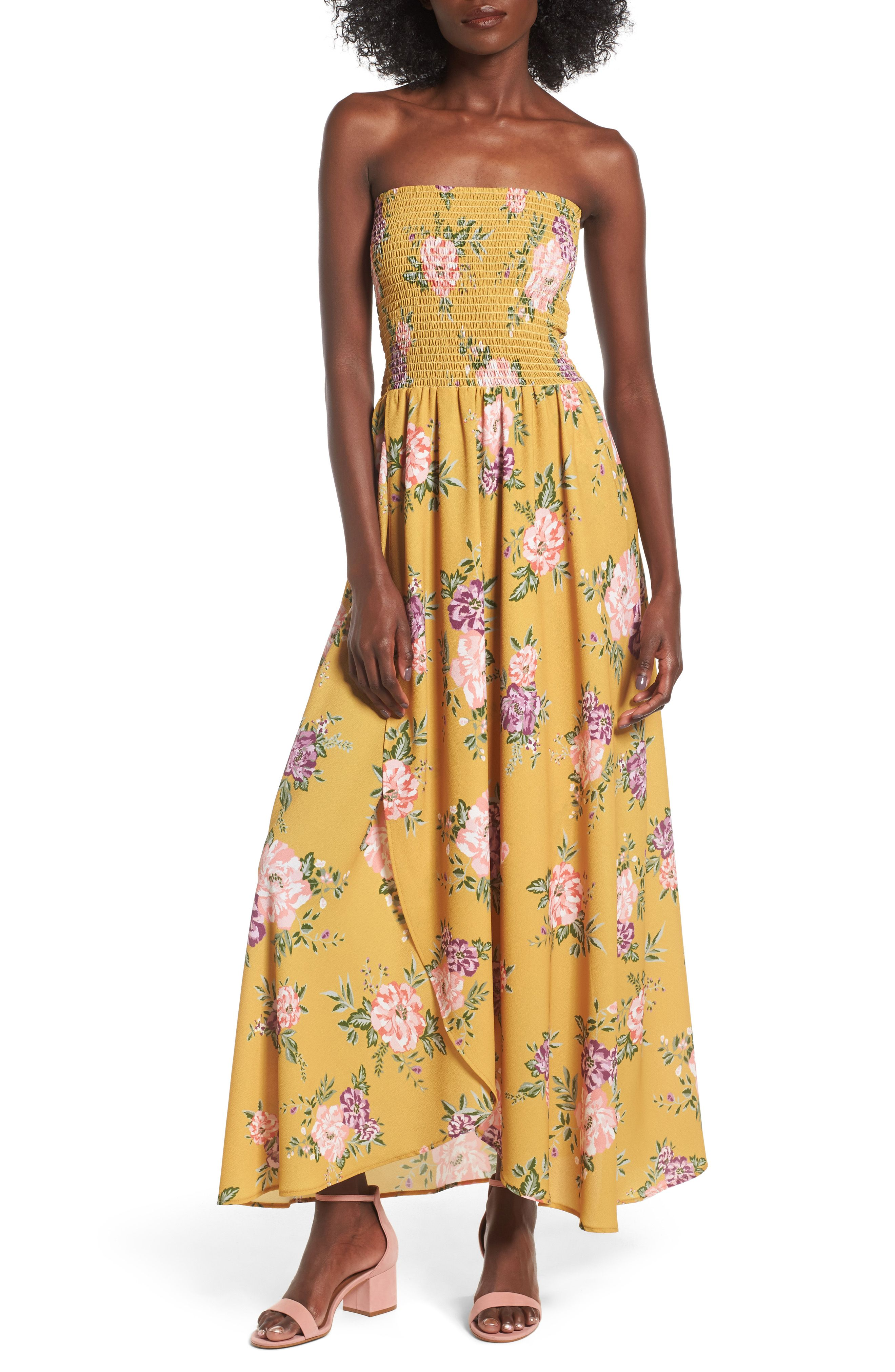 Smocked Strapless Maxi Dress Lauren Sims Maxi Dresses For Summer Easy To Wear Strapless Maxi Dress With Such A Fu Dresses Cheap Dresses Strapless Maxi Dress [ 4048 x 2640 Pixel ]
