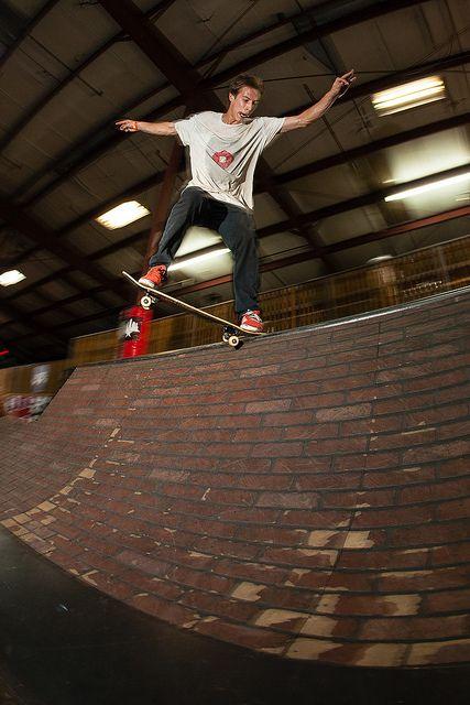 Matt Cartledge crooked grind at Tampa am 2013