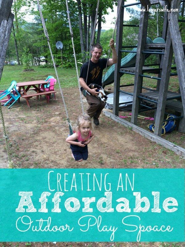 Creating An Affordable Outdoor Play Space