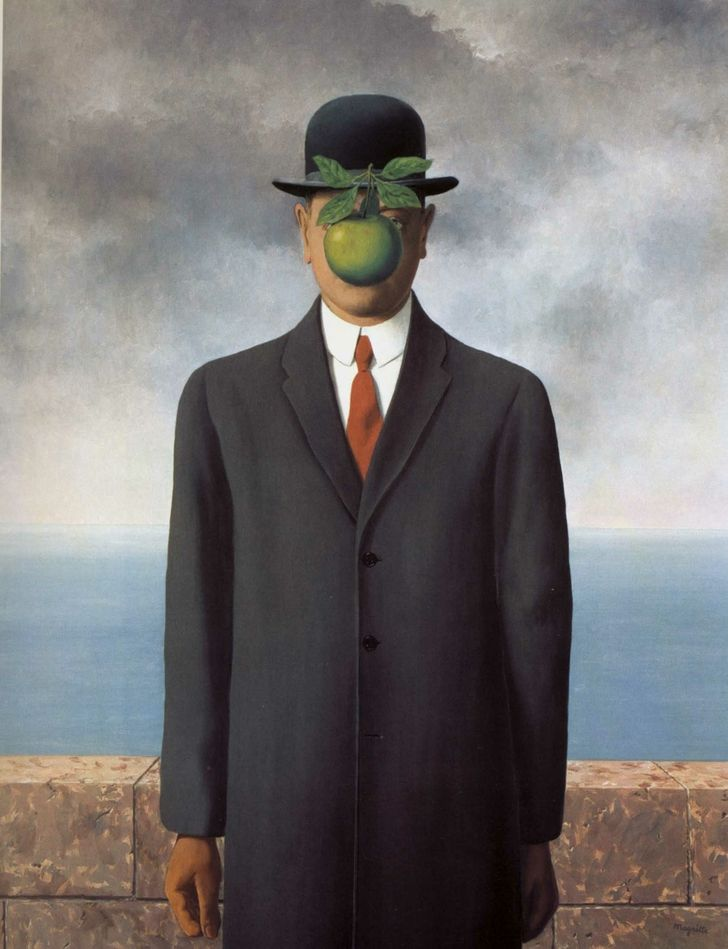 As 20 Pinturas Mais Famosas Do Mundo Magritte Pinturas Famosas