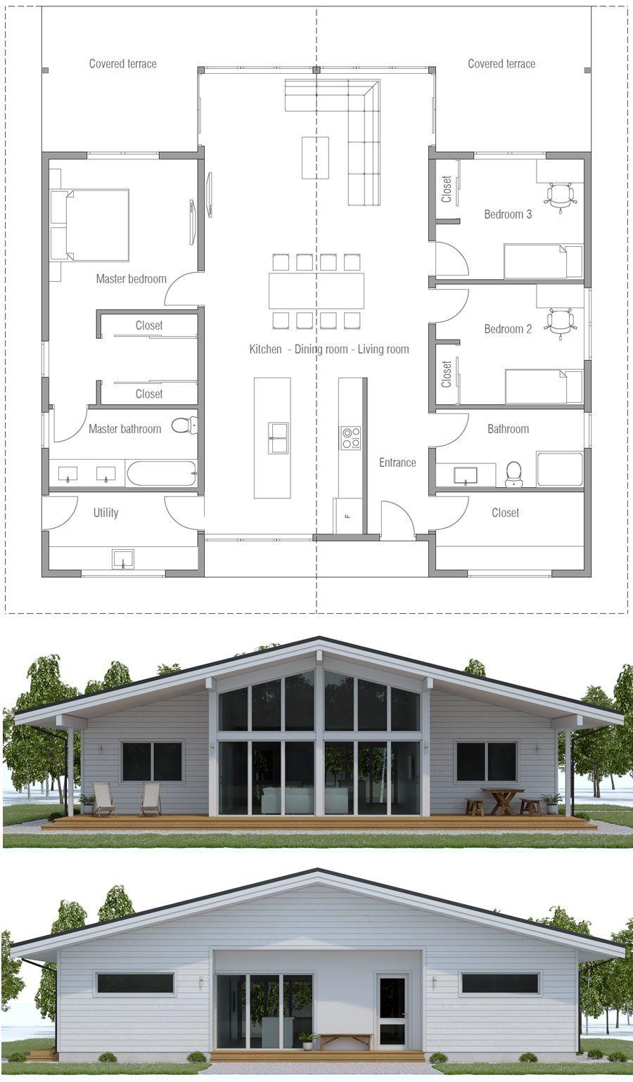 Architecture Plandemaision Container House Plans Floor Plans Contemporary House Plans