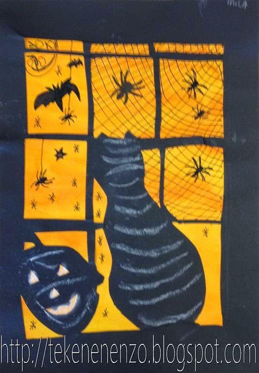 Tekenen En Zo Halloween.Tekenen En Zo Bovenbouw Halloween Pinterest Halloween