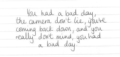 Bad Day Daniel Powter Bad Day Lyrics Meaningful Lyrics Bad Day Song
