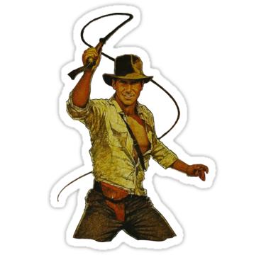 Indiana Jones Sticker By Elliot Four Indiana Jones Indiana Photo Album Scrapbooking