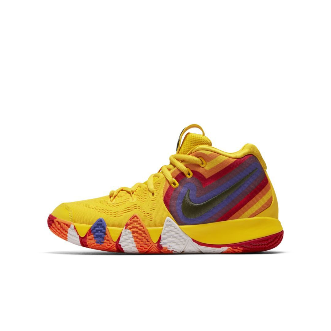 0424cafb513 Kyrie 4 Big Kids  Basketball Shoe Size 5.5Y (Amarillo)