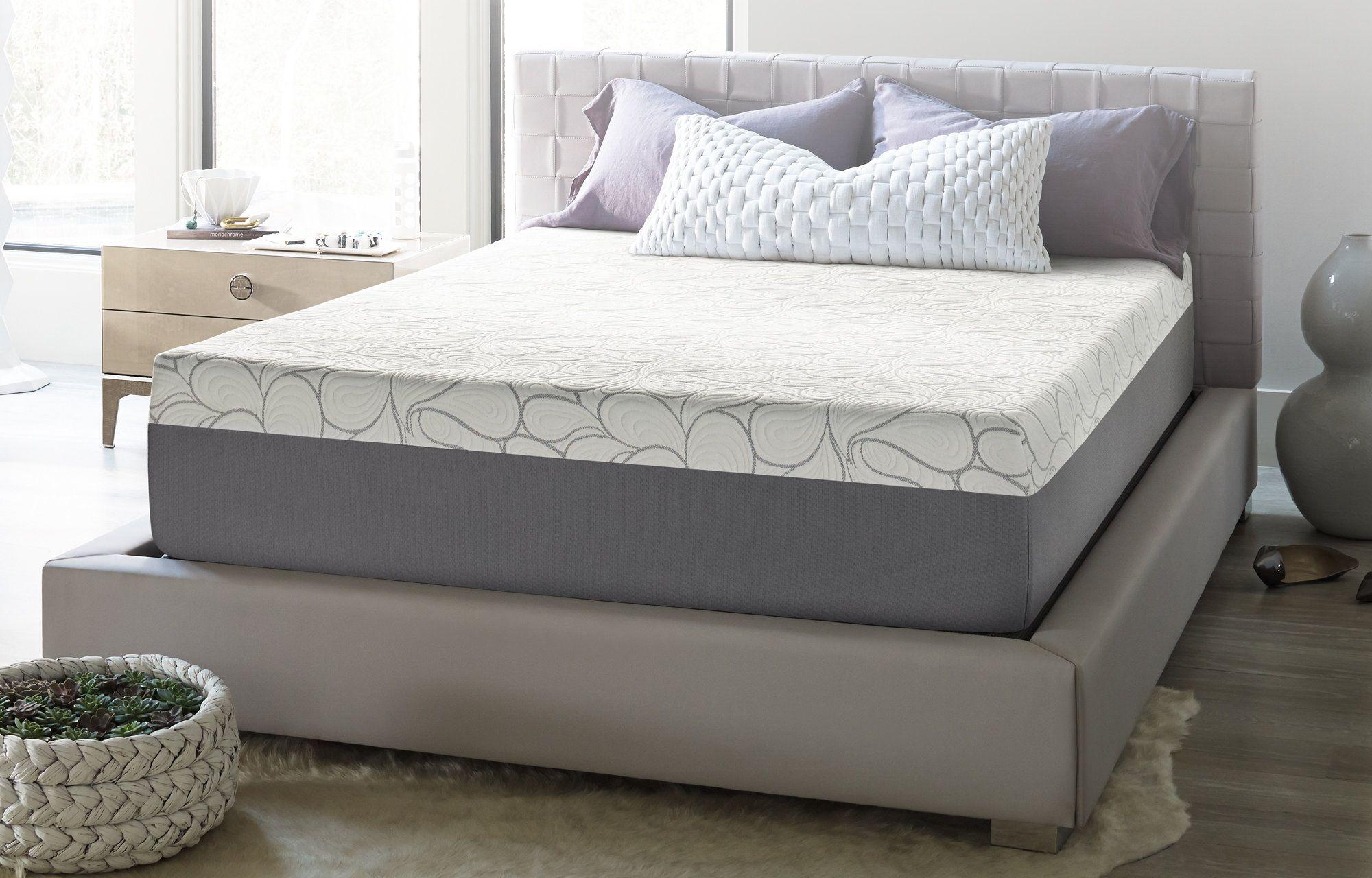 Byram Storage Platform Bed Gel Memory Foam Mattress Memory Foam