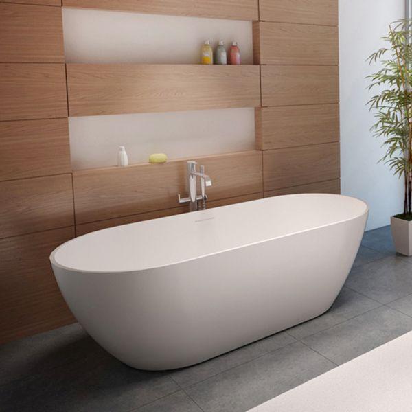 Riho Bilbao freistehende Badewanne 170 x 80 cm BS10 - MEGABAD - freistehende badewanne