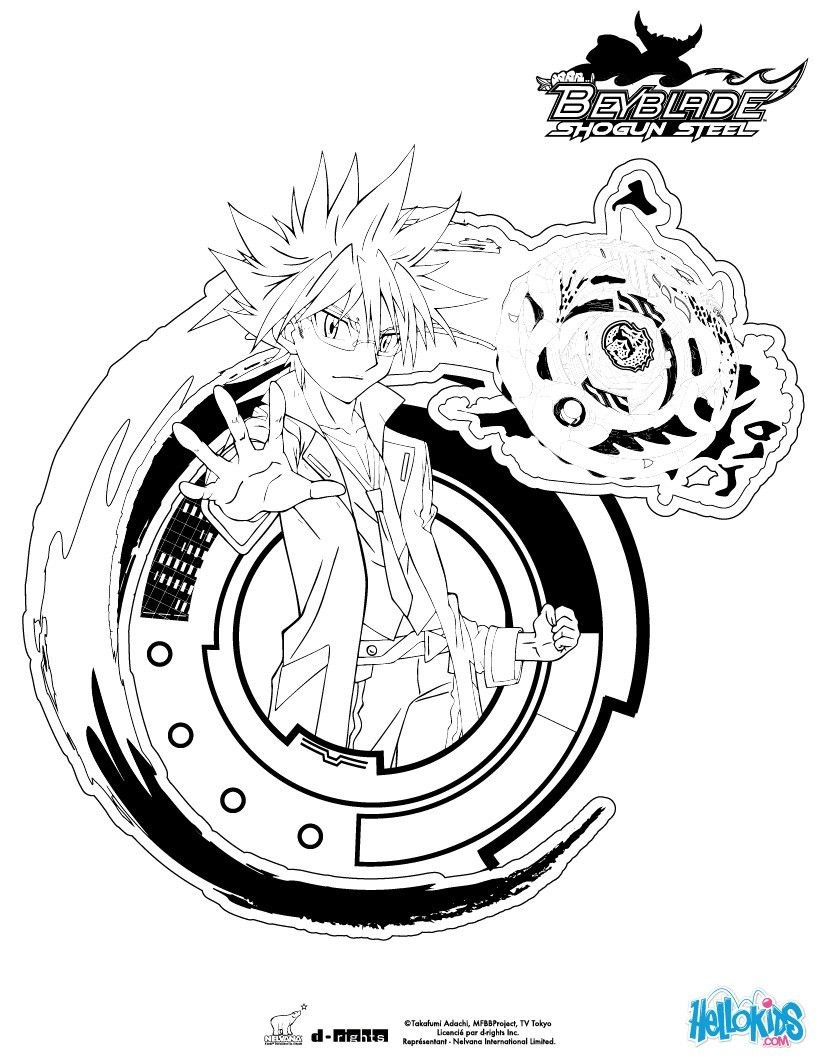 Kite coloring page. More Beyblade content on hellokids.com | Movies ...