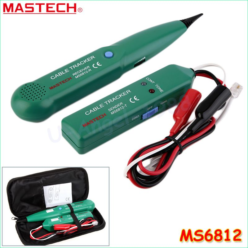 1pcs Mastech MS6812 Wire Network Telephone Cable Tester Line Tracker ...