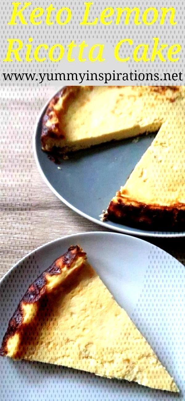 Low Carb Lemon Ricotta Cake Recipe - Easy Keto amp Gluten Free Dessert -