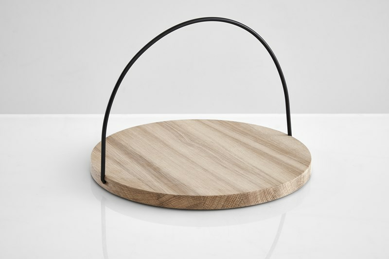 Loop tray by Julie Tolvanen for Woud