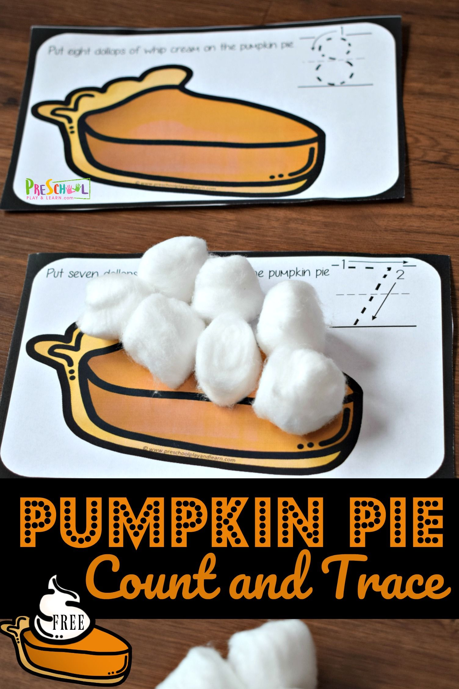 Pumpkin Pie Count And Trace