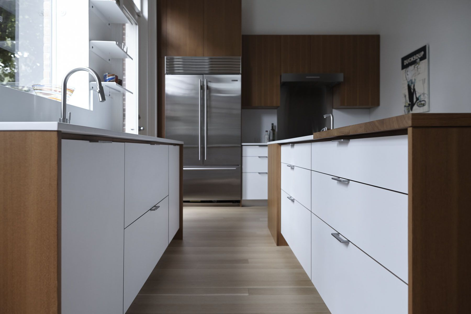 Kitchen Of The Week A Something Old Something New Kitchen In Brooklyn Kitchen Brooklyn Kitchen Living Room Cabinets
