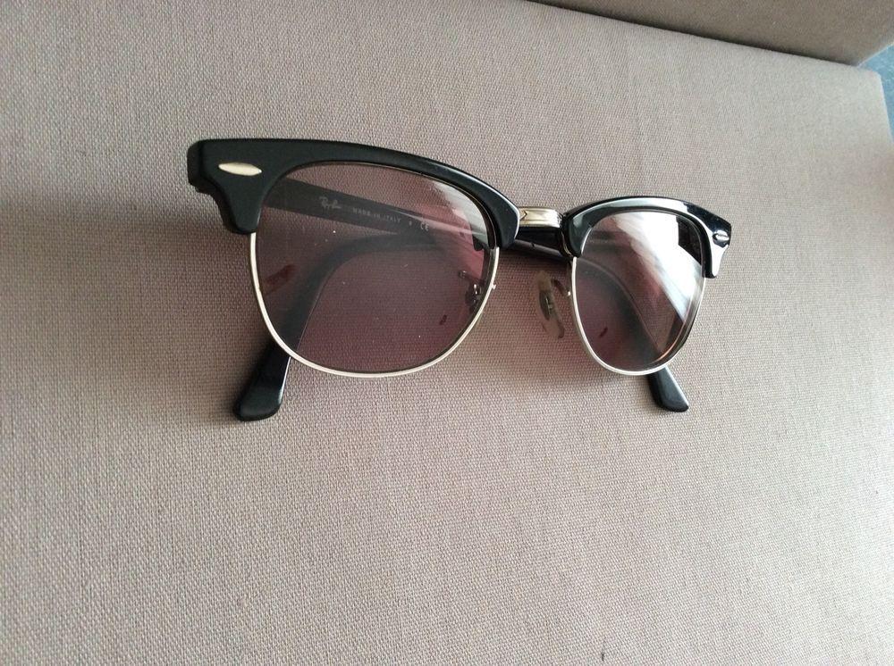 b1ebc17411 Ray Ban Sunglasses Women Black Frame Made In Italy Rx RB 2156 901 3N GUC