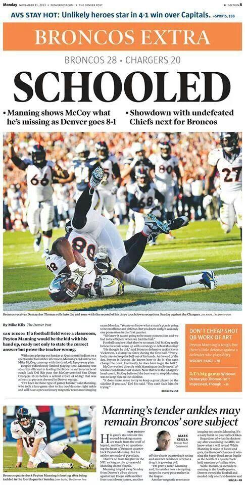 Denver Broncos Football By Cynthia Salas Aguilar On News Current