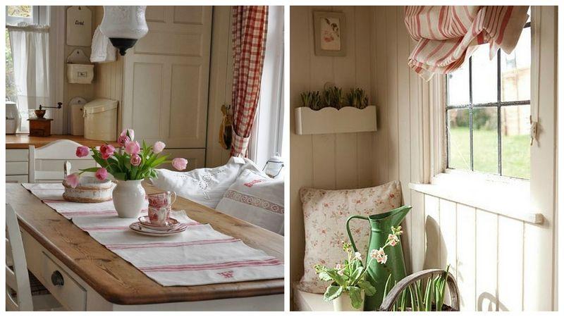 Un Peu De Rouge Pour La Cuisine Nest Pas Coutume Coussins - Deco jardin pinterest pour idees de deco de cuisine