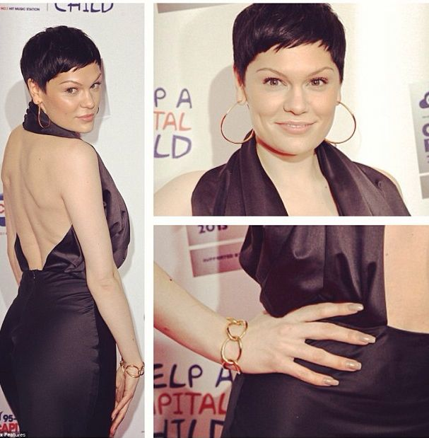 0073422f5 Jessie J rocking our X Large Wave Hoops! #DinnyHall | Hall of Hoops ...